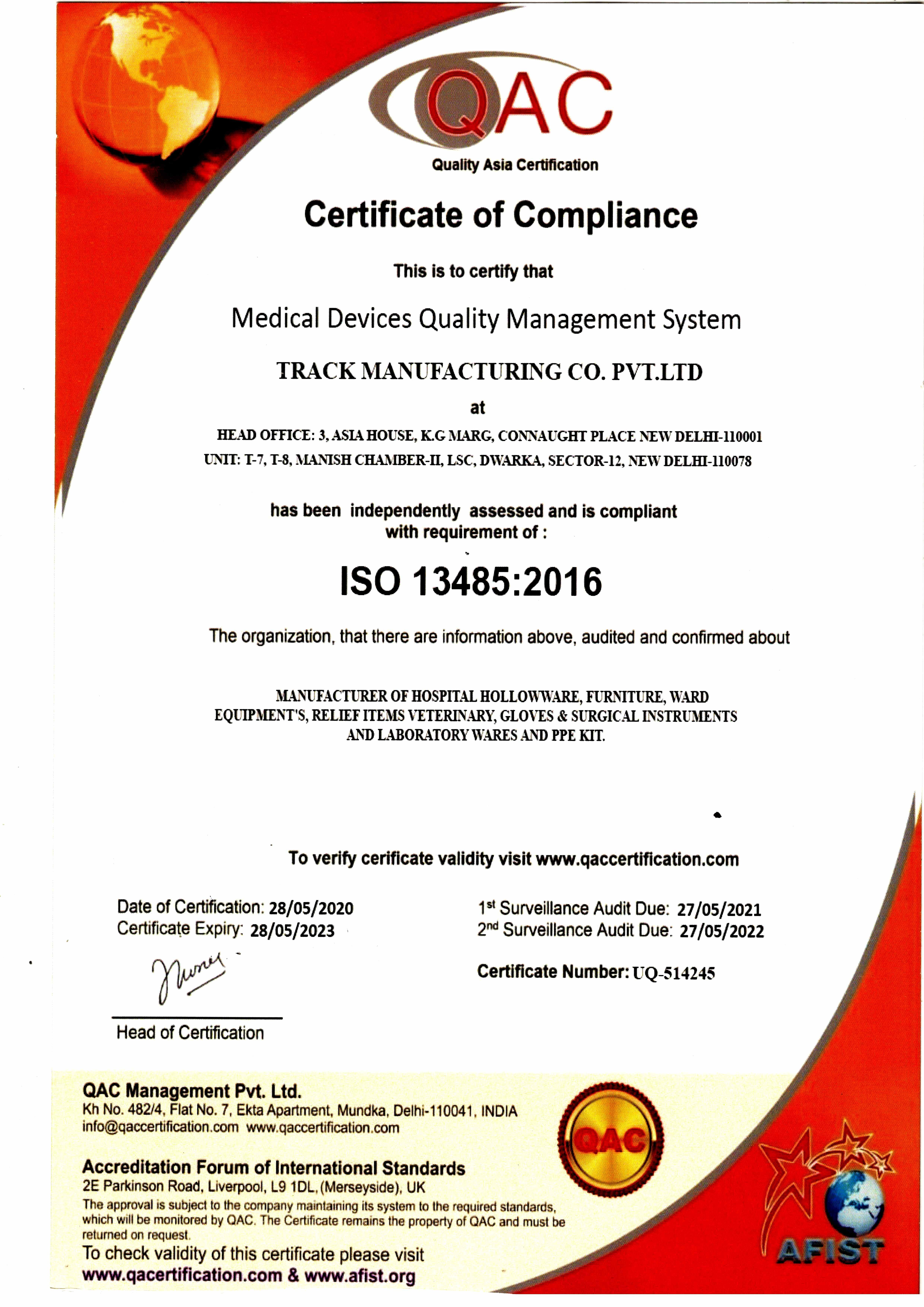 ISO 13485 - 2016